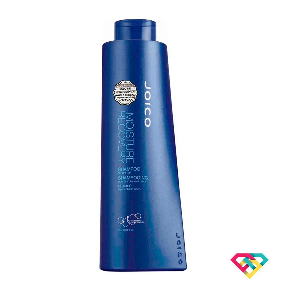Shampoo Hidratante Joico Moisture Recovery 1000 ml  - Shine Shop Perfumes e Cosméticos