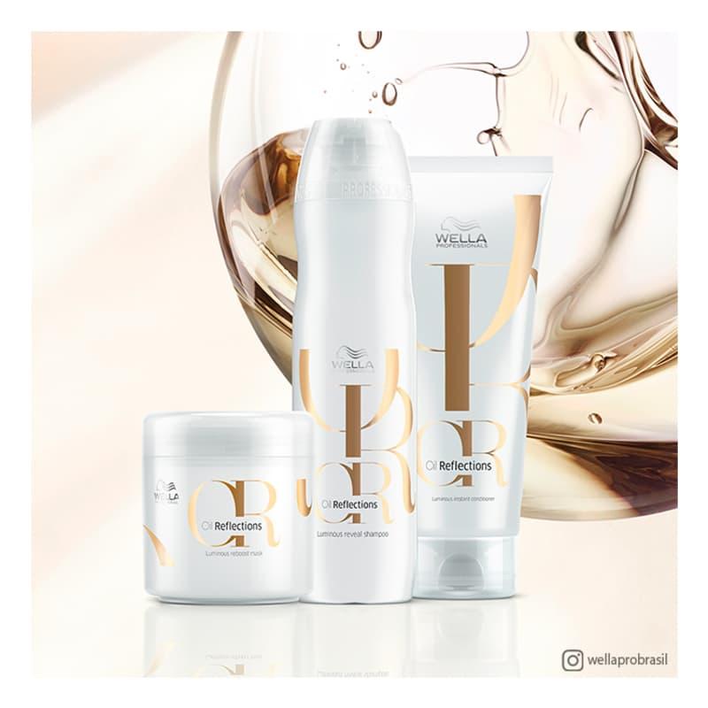 Shampoo Luminous Reveal Oil Reflection Wella Professionals 1000ml  - Shine Shop Perfumes e Cosméticos