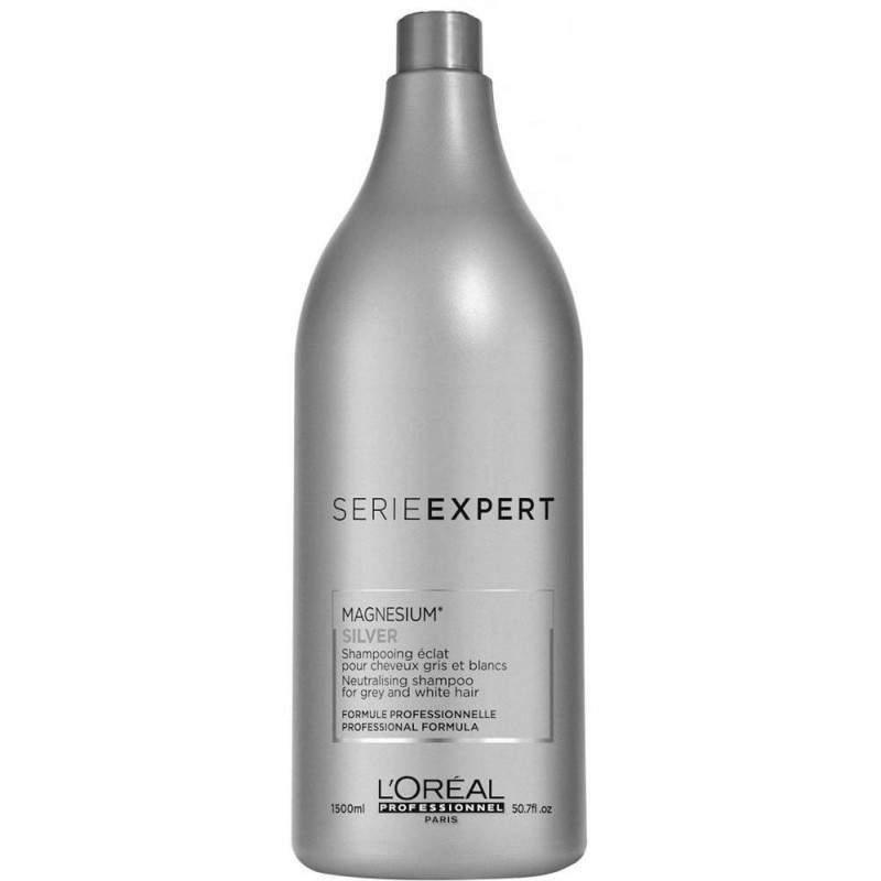 Shampoo Magnesium Silver L'Oréal Professionnel Serie Expert 1,5l