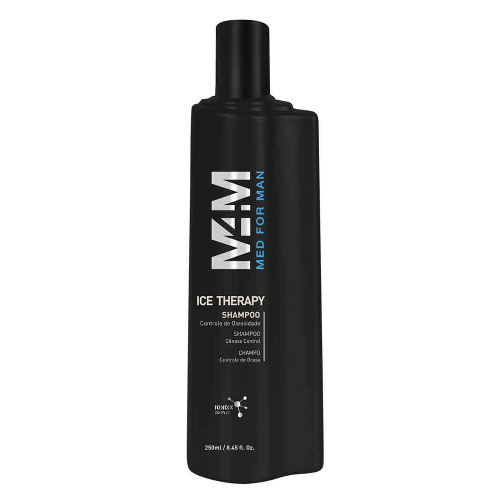 Shampoo Multifuncional Med For Man Cabelo & Barba Mediterrani 250ml