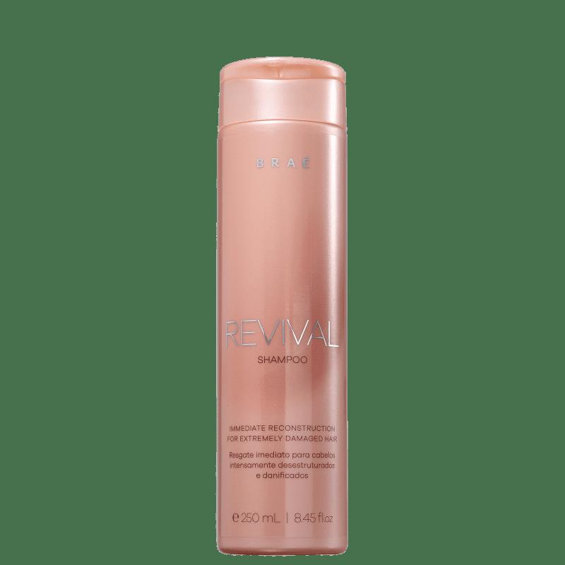 Shampoo Reconstrutor Revival Braé 250ml
