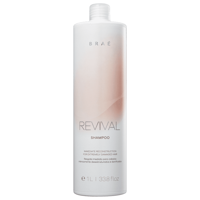Shampoo Revival Resgate Imediato Braé 1000 ml