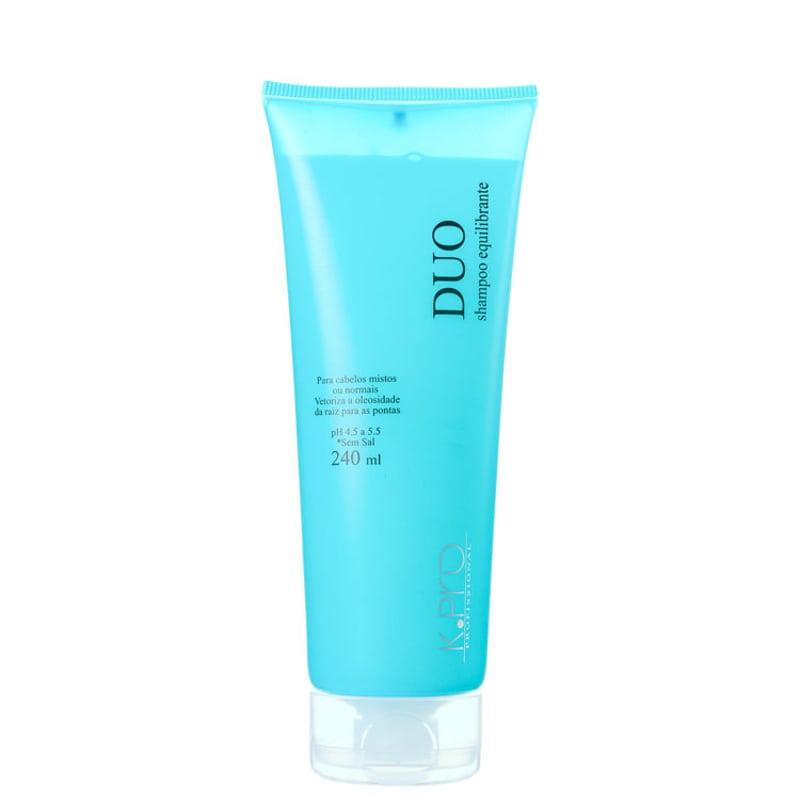 Shampoo sem sal Ice Duo K.Pro Professional 240ml