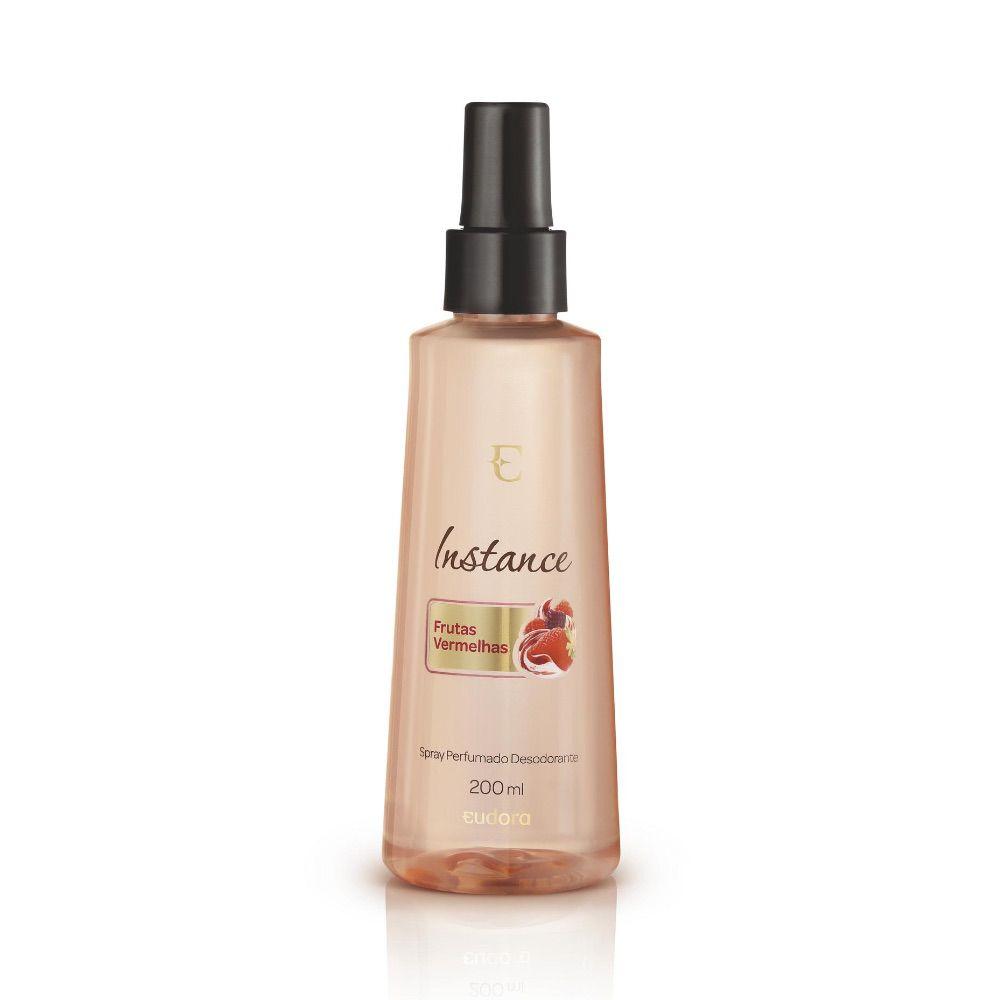 Spray Desodorante Perfumado Frutas Vermelhas Instance Eudora 200ml