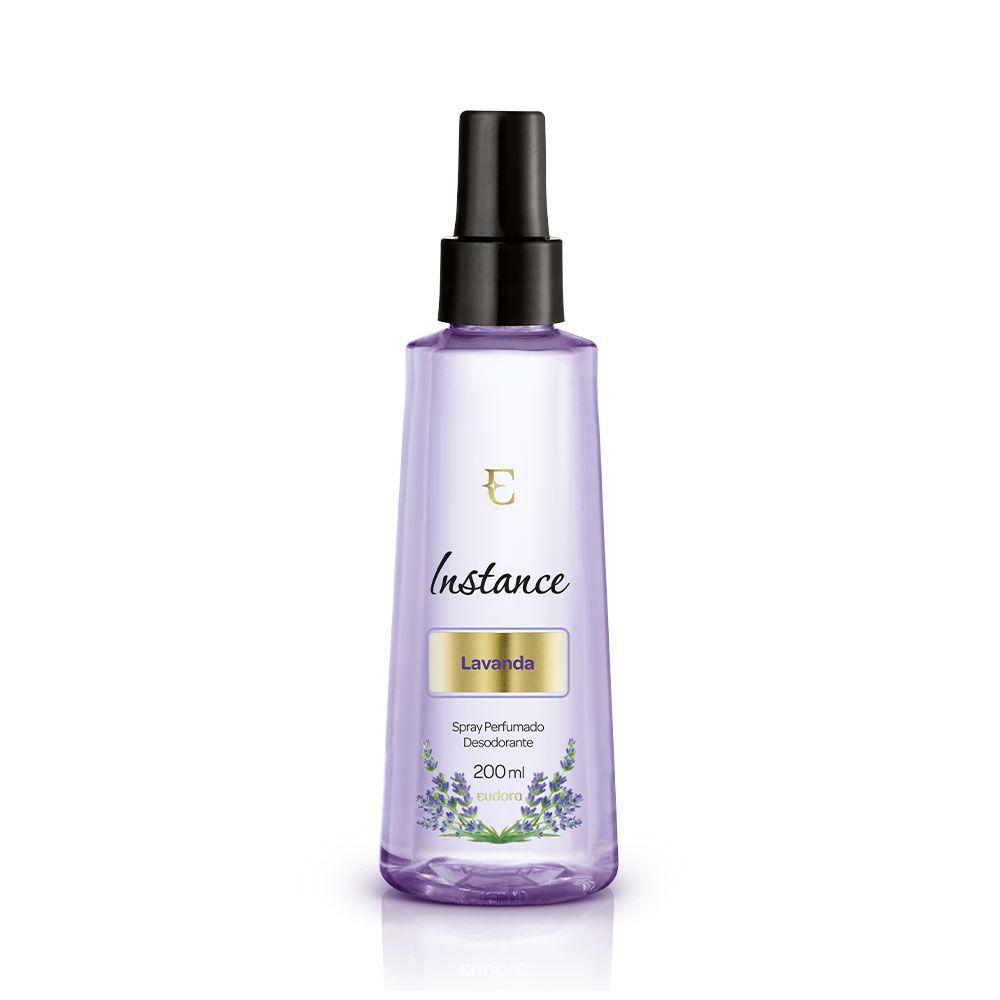 Spray Desodorante Perfumado Lavanda Instance Eudora 200ml