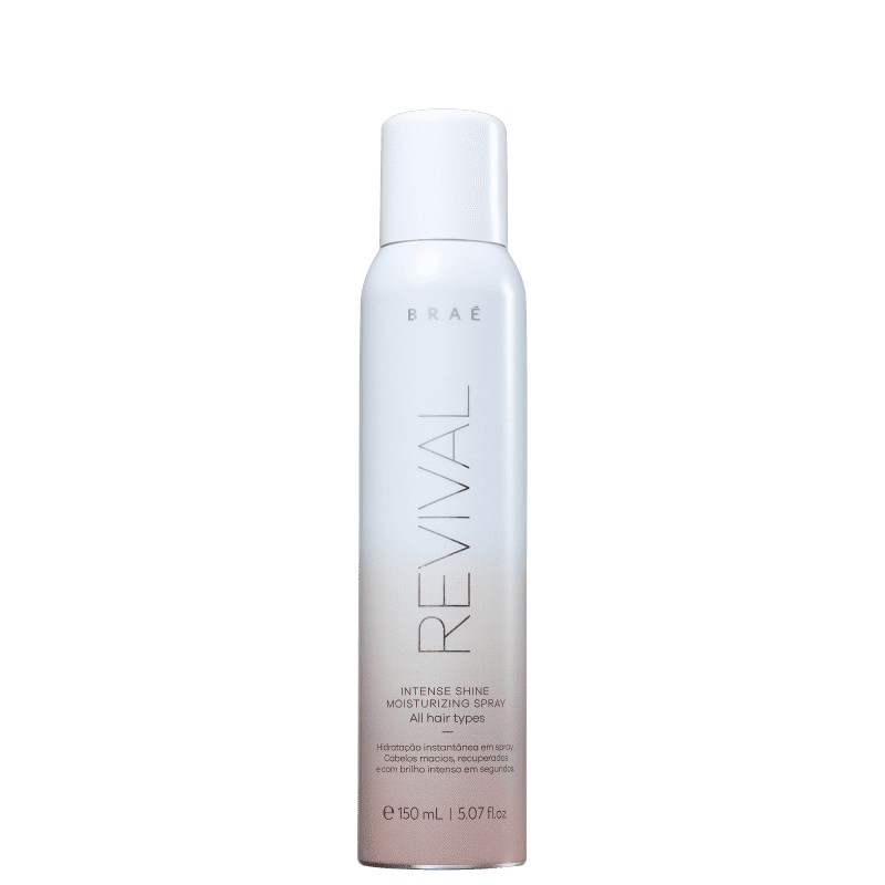 Spray Leave-in Hidratação Instantânea Revival Braé 150g