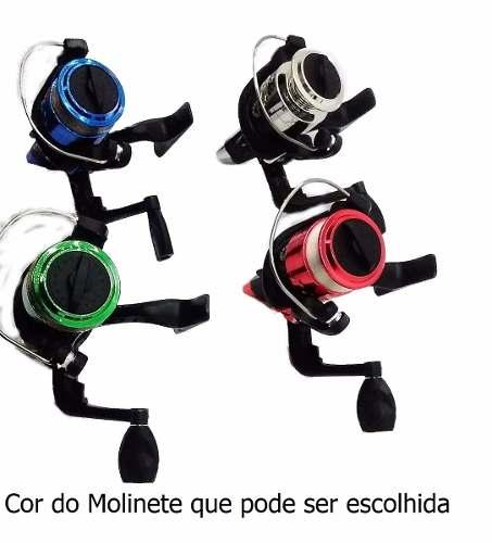 Molinete Toto 200 1 Rolamento Corpo Carretel Grafite Xingu
