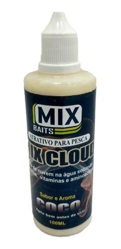 Atrativo Para Pesca Efeito Nuvem Proteinas Vitaminas Aminoacidos 1 Frasco Com 100ml Mix Cloud Baits Pau No Gato