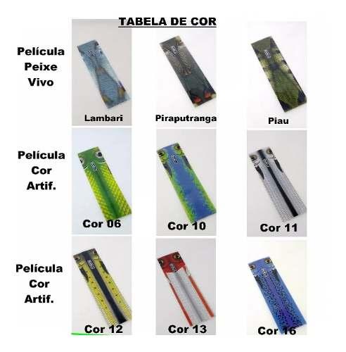 Isca Refil Lure Encapa Renova Kit Com 10 Cores Sortidas
