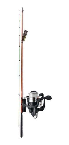 Vara De Pesca Completa 1,80m 5kg Molinete Linha Corimba