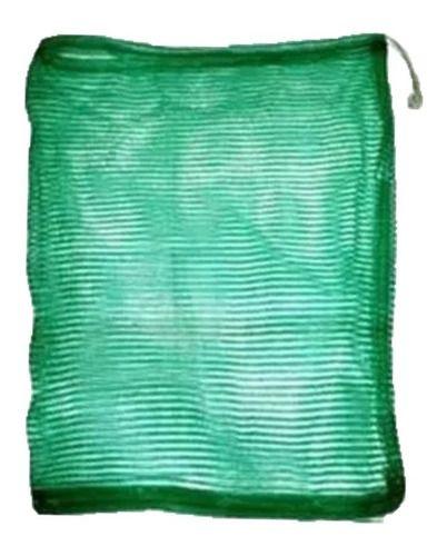 10 Sacola Viveiro Sambura Covo De Nylon Para Iscas Ou Peixes