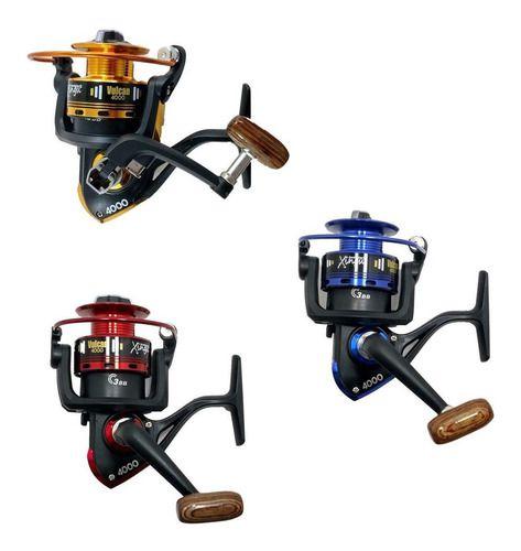 Caixa Para Pesca Completa 1 Vara 1,70 1 Molinete 3 Rol Itens