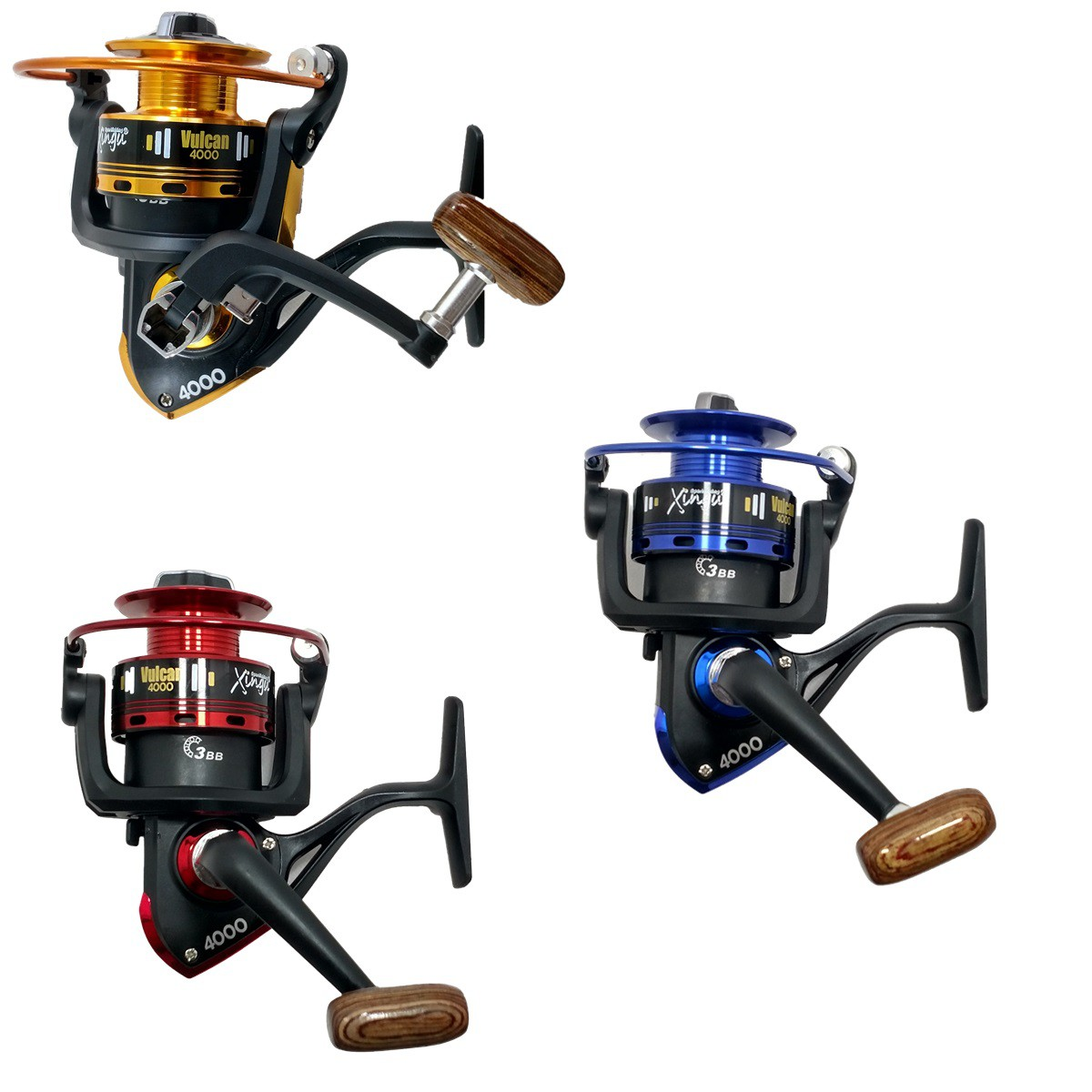 Kit De Pesca Completo 20kg 2 Vara 1,70m 2 Molinete 4000 E Itens