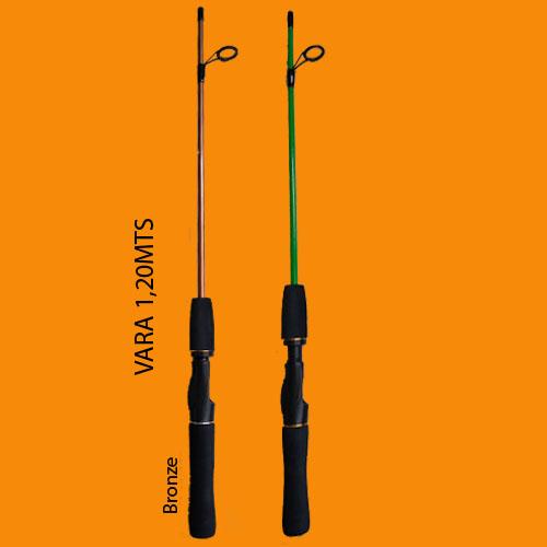 Kit De Pesca Completo Suporta 6kg 3 Vara 3 Molinete + Itens