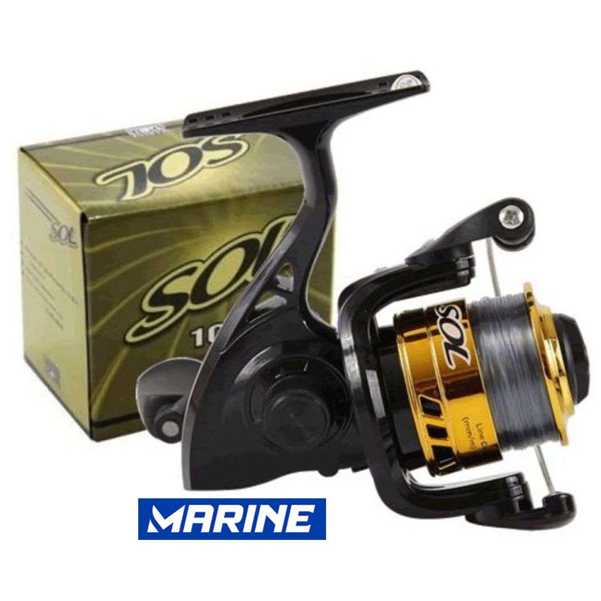 Kit Pesca Completo 3 Vara 3 Molinete Caixa Com Itens