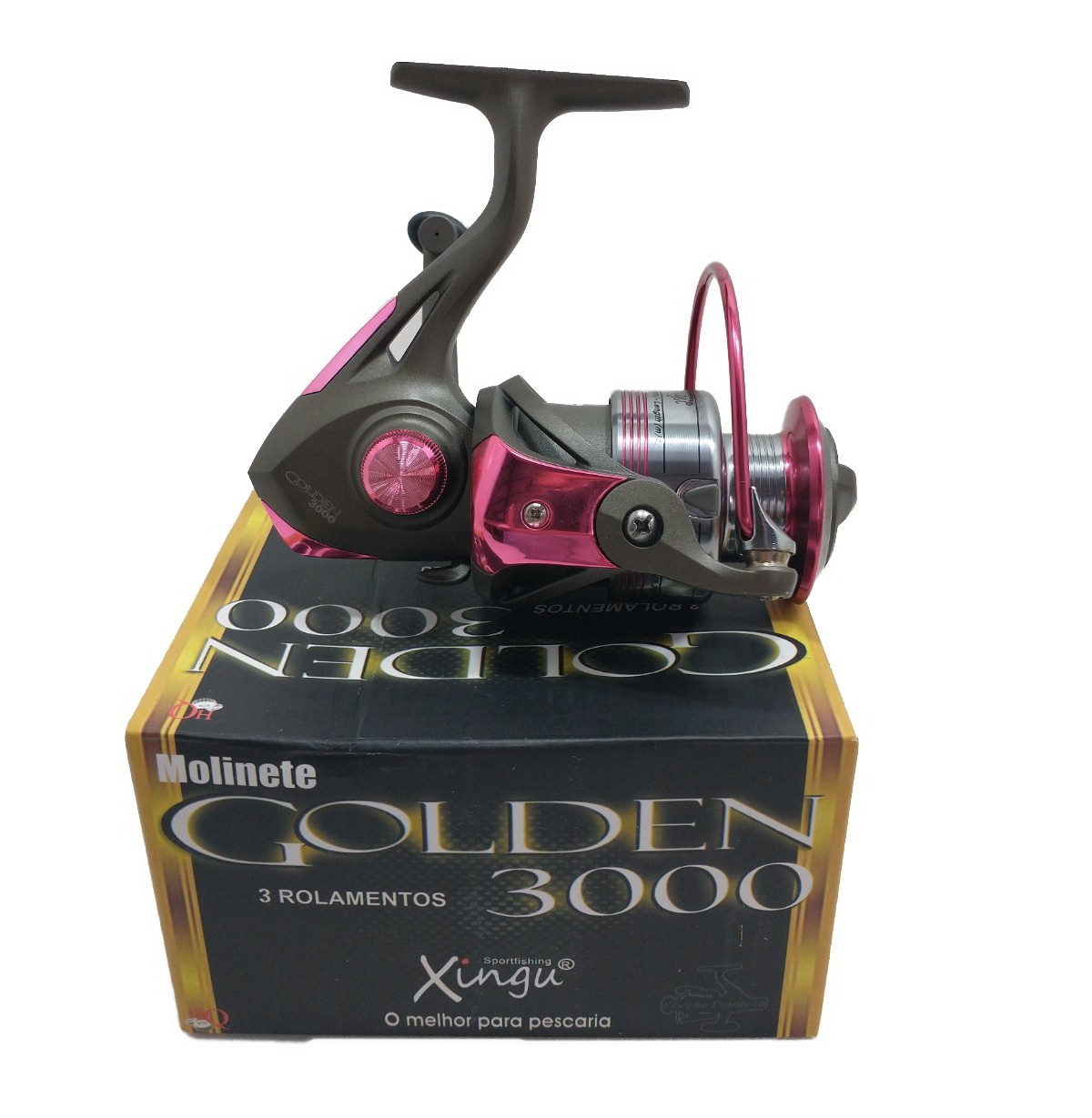 Kit Pesca Completo Vara 1,35 Molinete Rosa Alicate E Itens