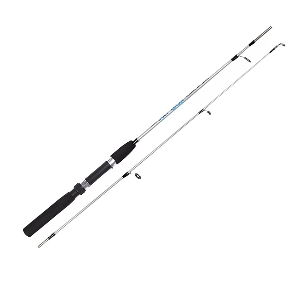 Vara De Pesca 1,35m 10-20lb Em Fibra De Vidro Para Molinete