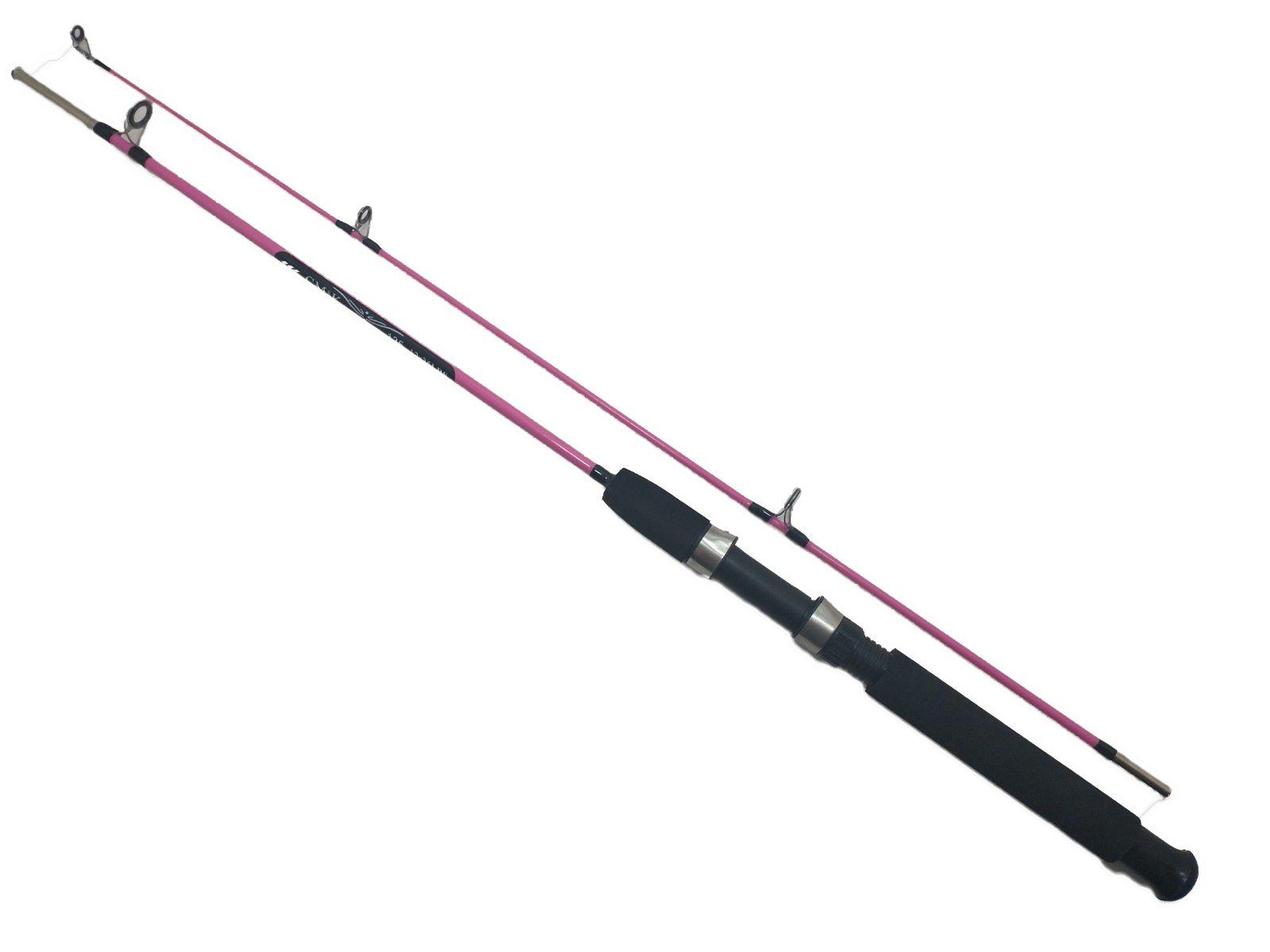 Vara De Pesca Para Molinete 1,35m Em 100% Fibra De Vidro