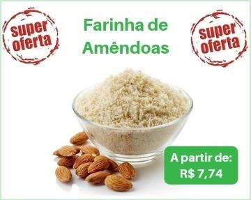 farinha de amendoas , farinha de amêndoas, farinha de amendoas granel