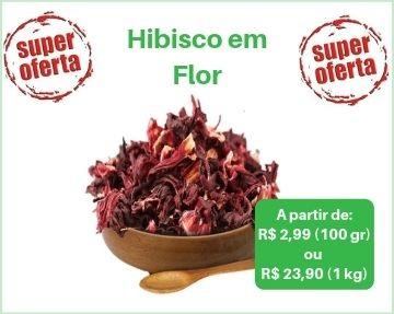 Hibisco em flor, cha de hibisco