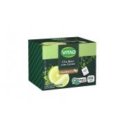 Chá Mate com Limão Orgânico 20 Sachês - Vitão