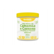 Chá misto de Camomila e Cidreira com polpa de maracujá 200g - Apisnutri