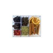 Kit Gin Essencial - 7 especiarias em caixa acrílica
