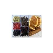 Kit Gin Luxo - 7 especiarias em caixa acrílica