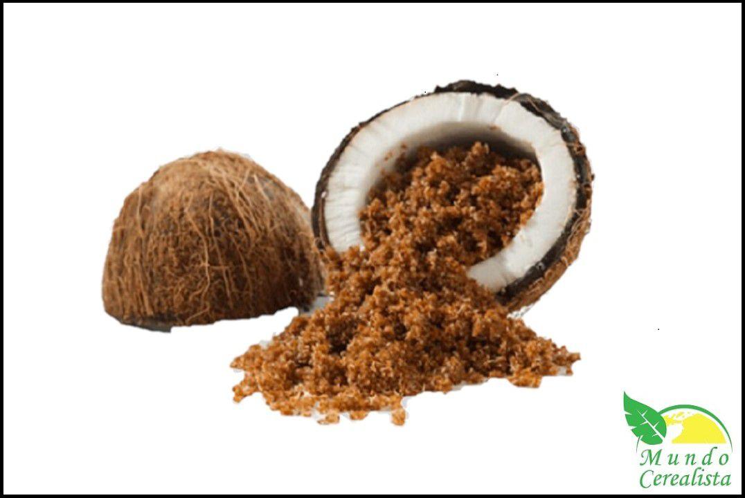 Açúcar de Côco - Granel  - Mundo Cerealista