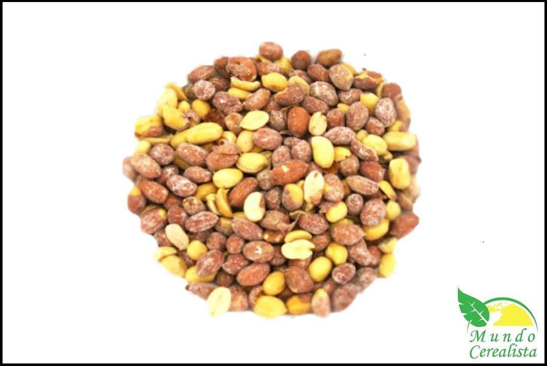 Amendoim com Pele Torrado Com Sal - Granel  - Mundo Cerealista