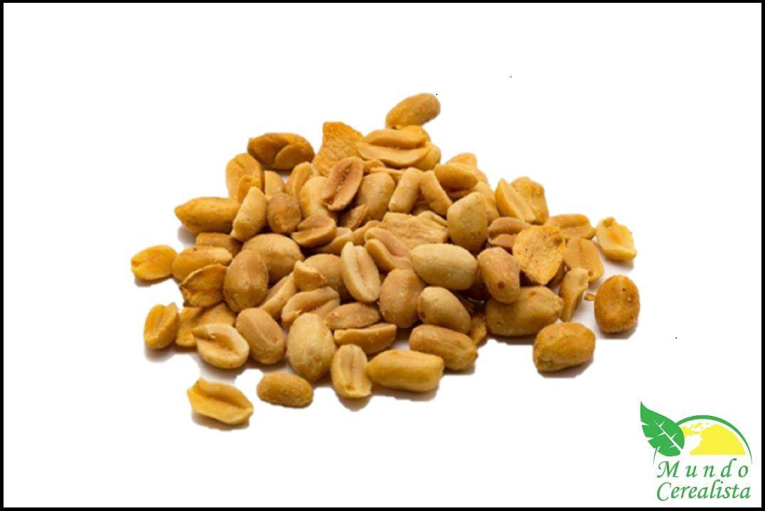 Amendoim sem Pele Torrado Com Sal - Granel  - Mundo Cerealista
