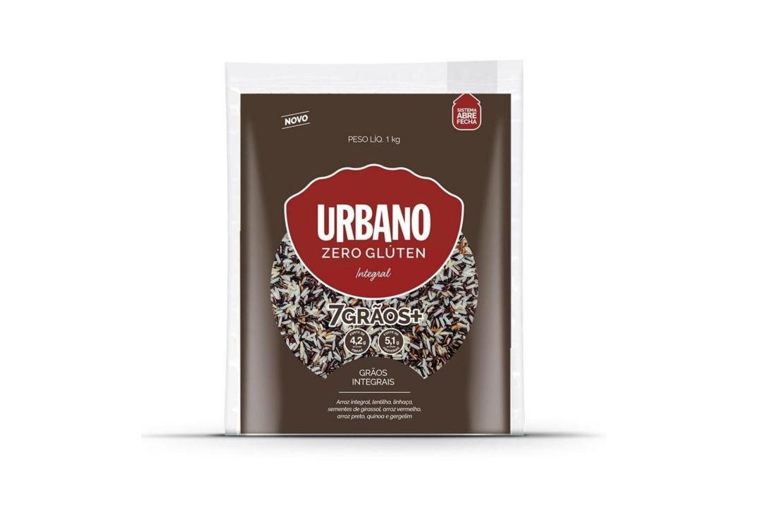 Arroz 7 (sete) Grãos sem Glúten 1 Kg - Urbano  - Mundo Cerealista
