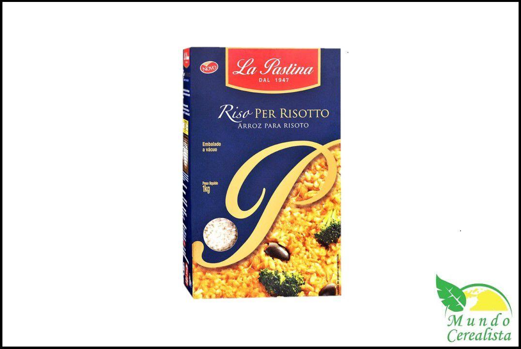 Arroz para Risoto - La Pastina - 1 kg  - Mundo Cerealista