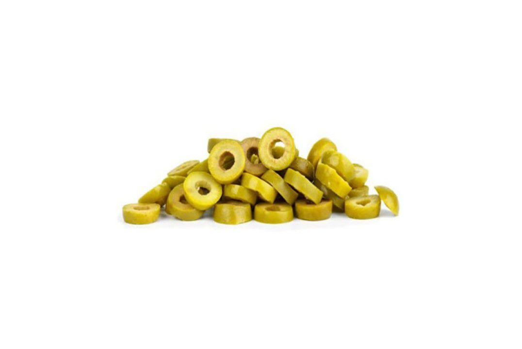 Azeitona Verde Fatiada - Granel  - Mundo Cerealista