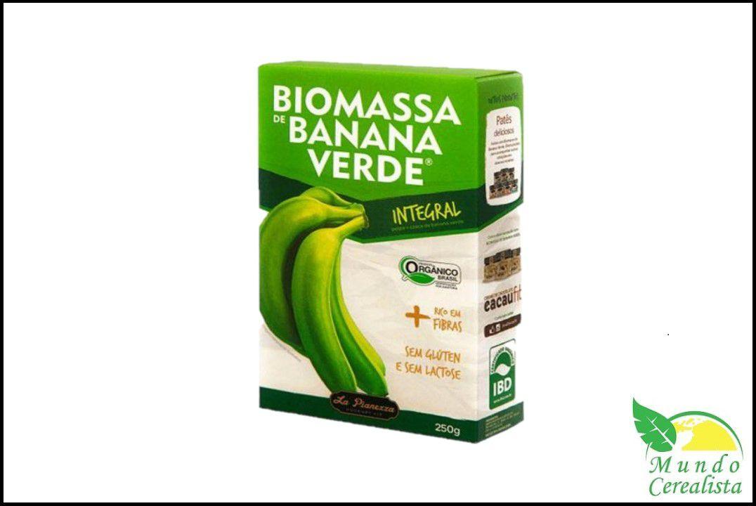 Biomassa de Banana Verde Integral - 250 Gr  - Mundo Cerealista