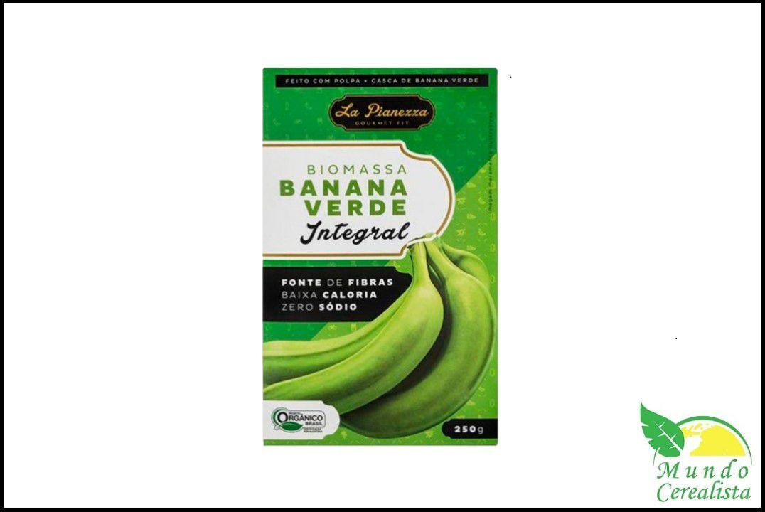 Biomassa de Banana Verde Orgânica Integral - 250 Gr  - Mundo Cerealista