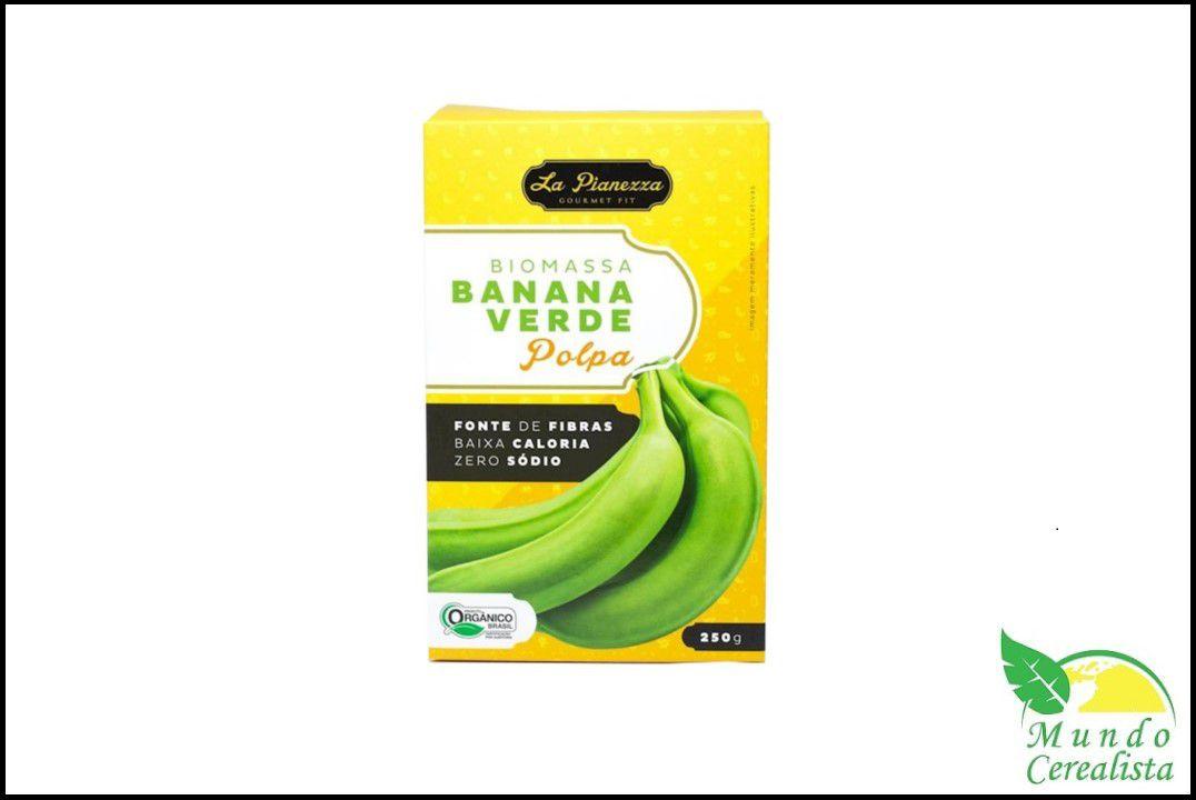 Biomassa de Banana Verde Orgânica Polpa - 250 Gr  - Mundo Cerealista