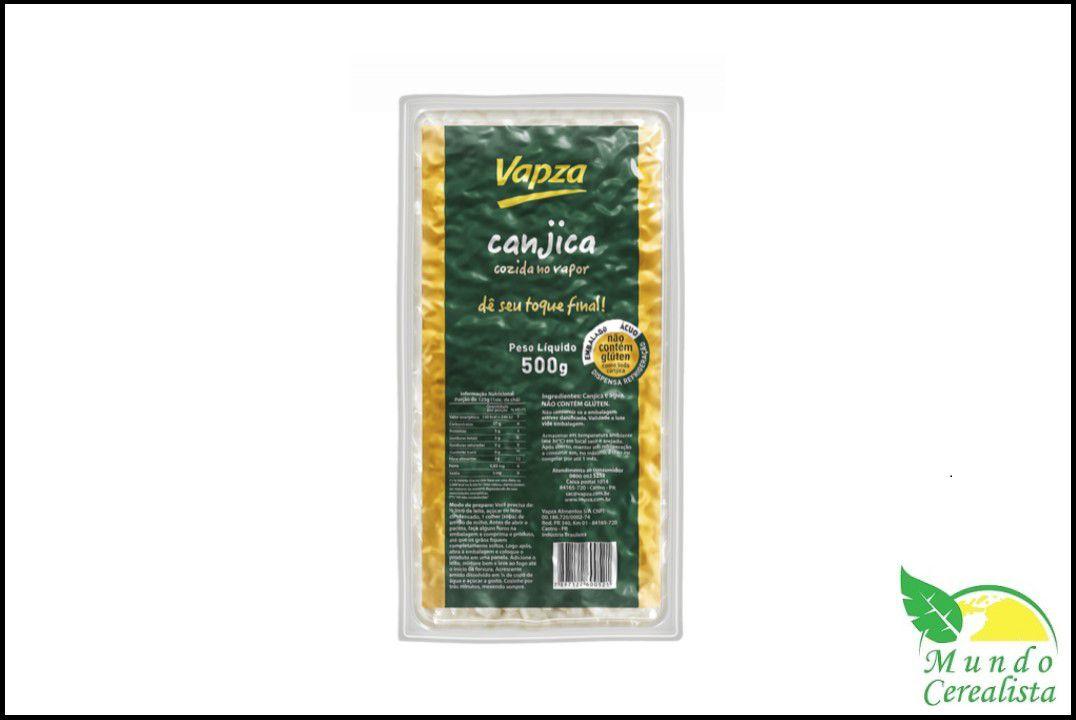 Canjica 500  Gr - Vapza  - Mundo Cerealista