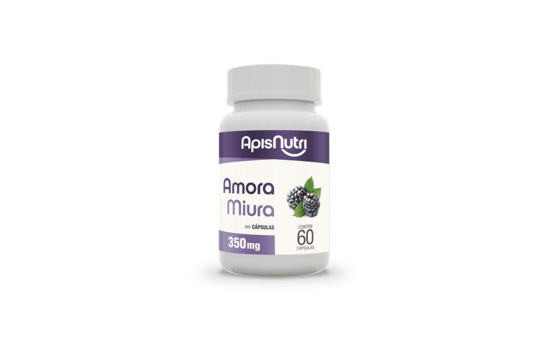 Cápsula Amora 60 Caps 350Mg Apisnutri  - Mundo Cerealista