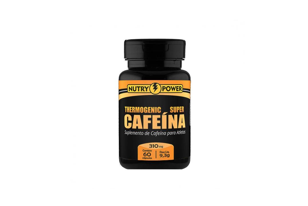 Cápsulas de Cafeína Super 60 Caps- 310Mg Apisnutri  - Mundo Cerealista