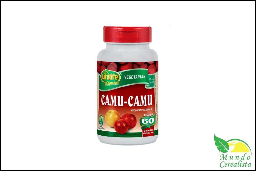 Capsulas de Camu Camu 60 Caps Unilife  - Mundo Cerealista