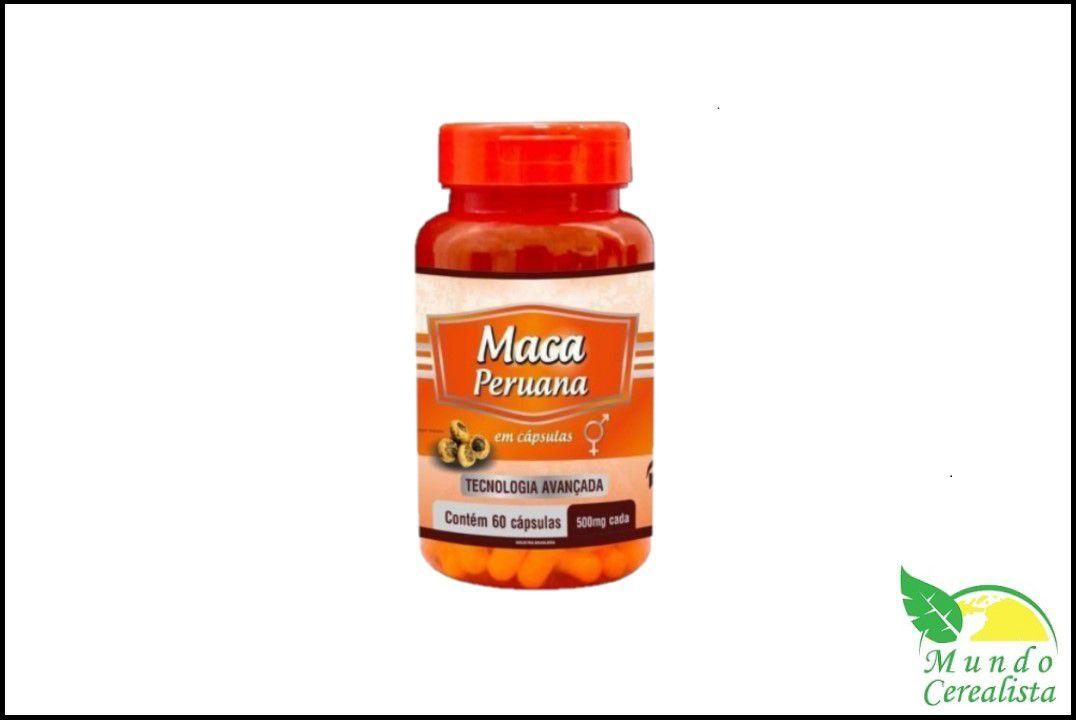 Cápsulas de Maca Peruana Promel - 60 Caps - 500 Mg  - Mundo Cerealista