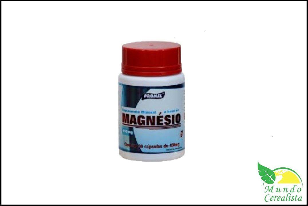 Cápsulas de Magnesio Promel - 30 Caps - 450 Mg  - Mundo Cerealista
