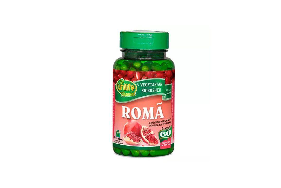 Cápsulas de Romã 60 Caps Unilife  - Mundo Cerealista
