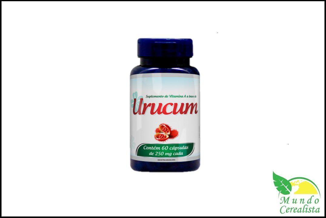 Cápsulas de Urucum Promel - 60 Caps - 250 Mg  - Mundo Cerealista