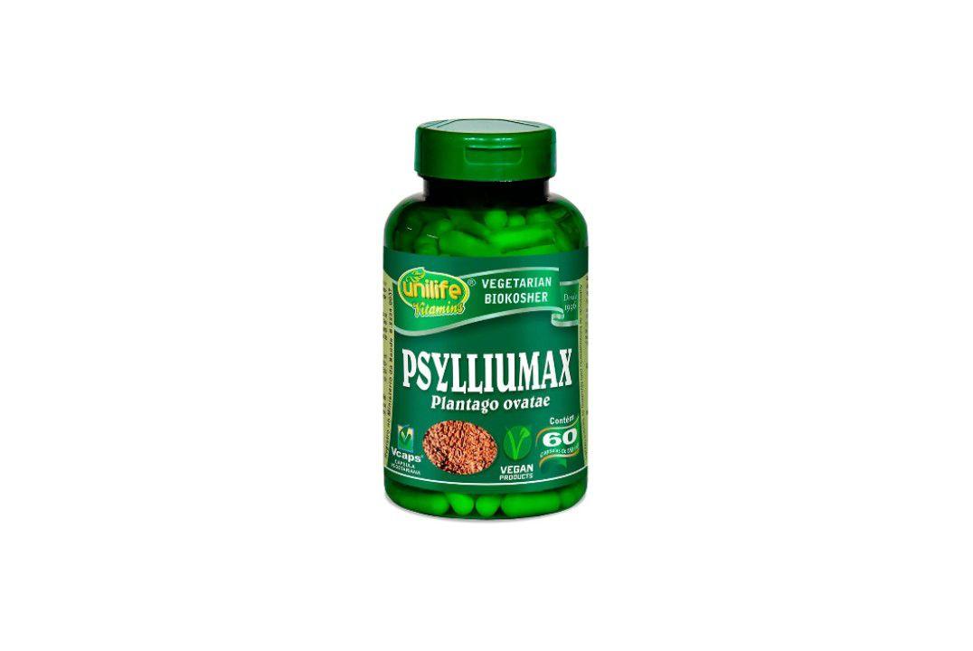 Cápsulas Psylliumax 60 Caps 550Mg Unilife  - Mundo Cerealista