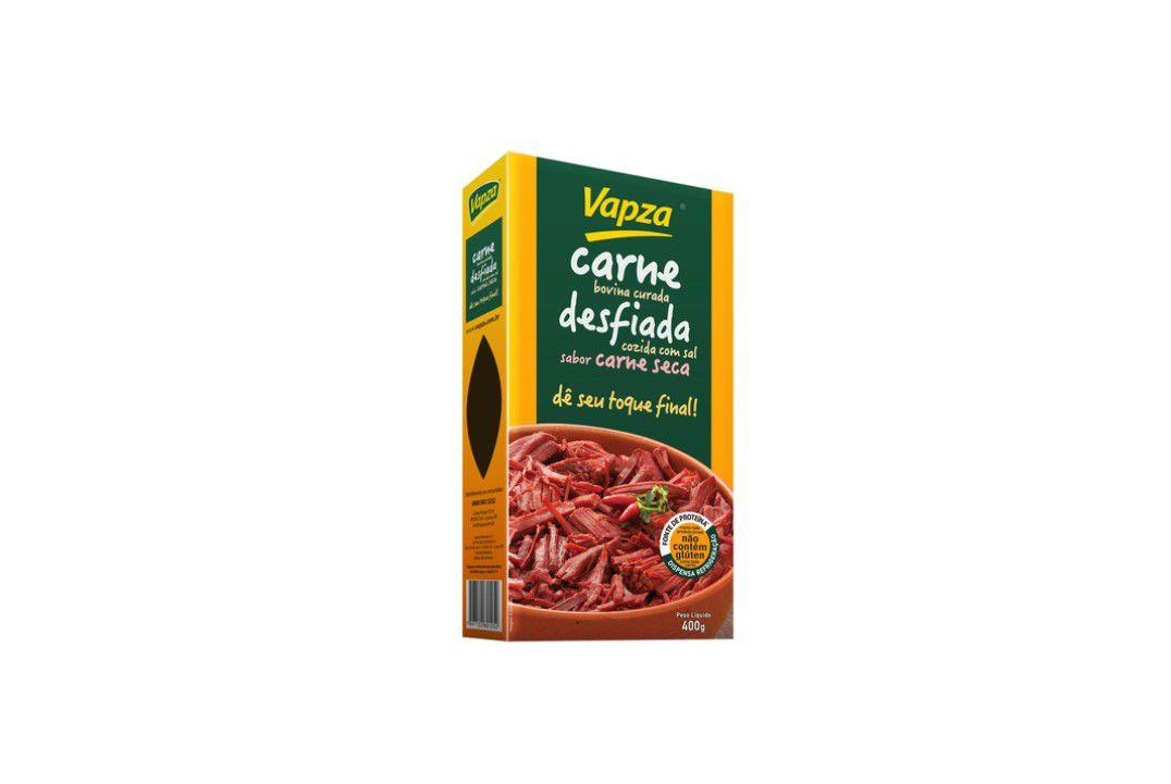 Carne Bovina Curada L. V. 400 Gr - Vapza  - Mundo Cerealista
