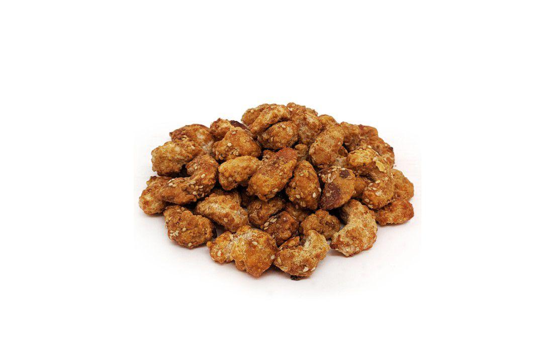 Castanha de Caju Caramelizada com Gergelim  - Mundo Cerealista