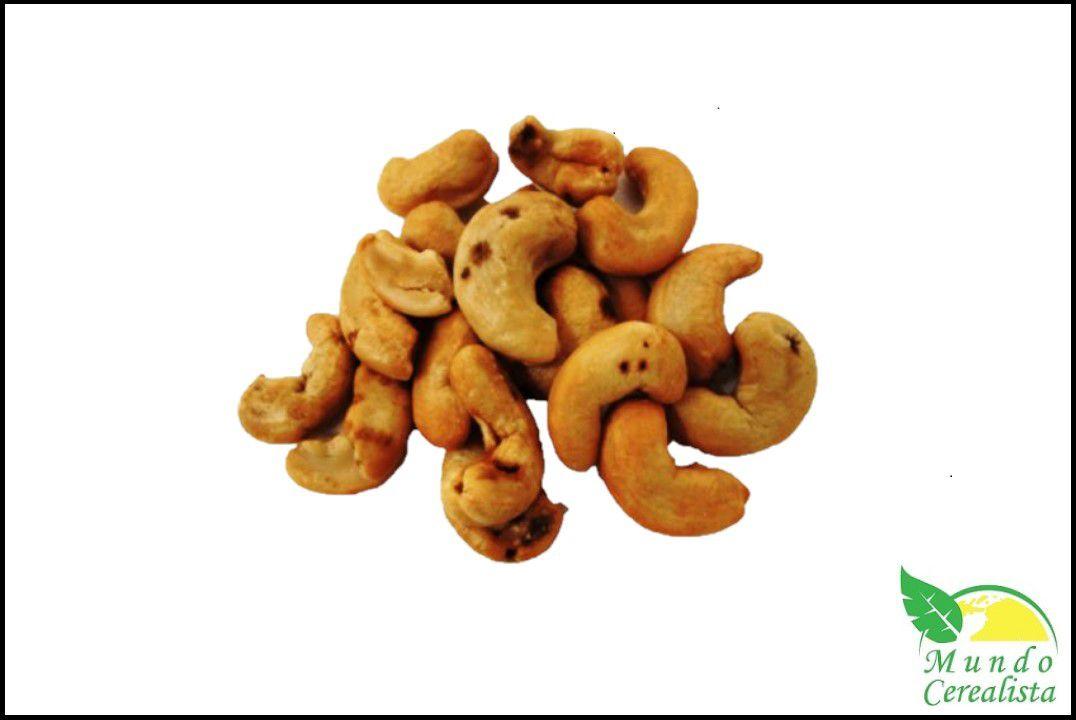 Castanha de Caju Torrada Sem Sal W3 - Granel  - Mundo Cerealista