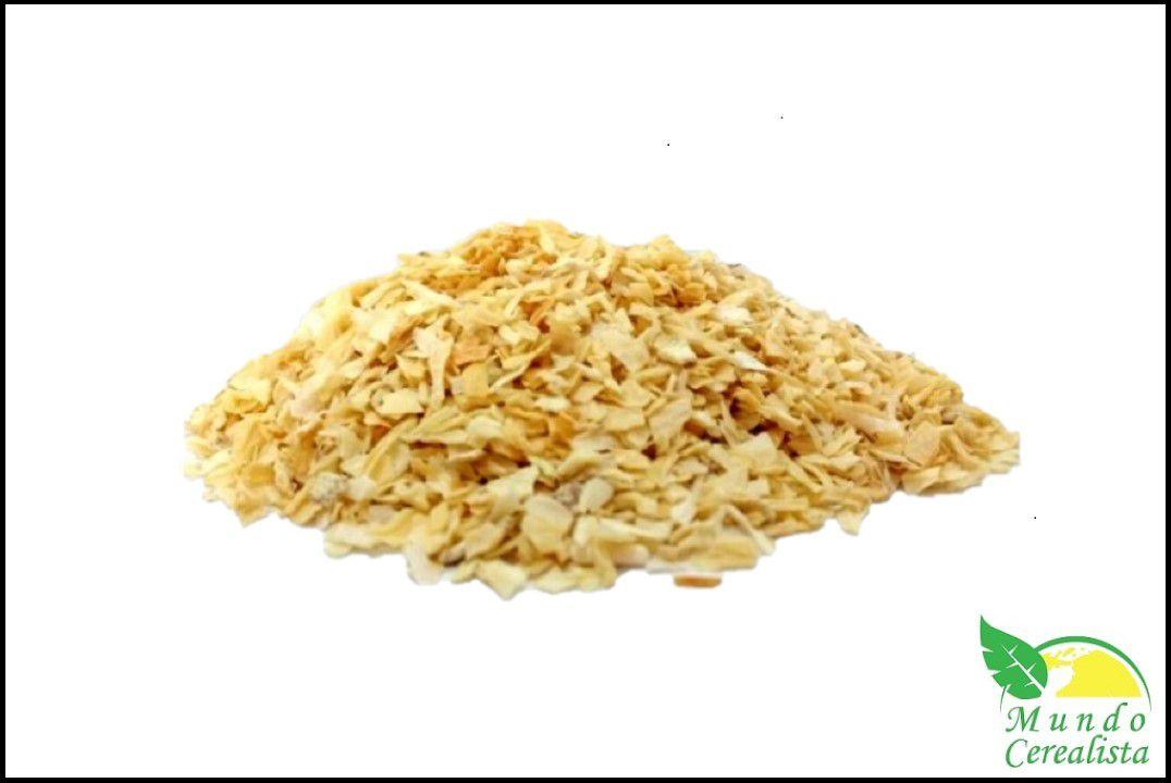 Cebola Desidratada Granulada - Granel  - Mundo Cerealista